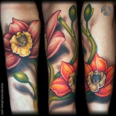 Orchid Tattoo : Tattoos :