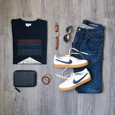 """708 Me gusta, 16 comentarios - Mitch Yasui (@mitchyasui) en Instagram: """"Showers aren't dampening my spring mood. They are, however, preventing me from leaving the house.…"""" Cool Outfits, Casual Outfits, Men Casual, Fashion Outfits, Daily Fashion, Mens Fashion, Outfits Hombre, Mens Trends, Dapper Gentleman"""