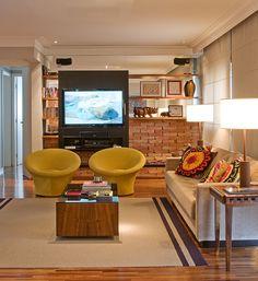 Projeto: Arquiteto Ricardo Caminada e a designer de interiores Daniela Berland Cianciaruso, da Díptico Design de Interiores