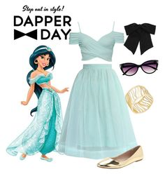 """""""Dapper Day Jasmine"""" by adanae876 on Polyvore featuring ferm LIVING, Thalia Sodi, Yves Saint Laurent, Chicwish and Urge"""