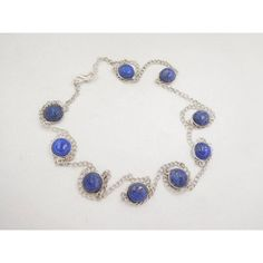 """Natural Lapis Lazuli Cabochon Stone Chain Necklace 925 Silver Plated 36"""" Long from MDKGEMSNBEADS on Etsy Studio https://www.etsystudio.com/listing/556682746/natural-lapis-lazuli-cabochon-stone?ref=sr_gallery_41&utm_campaign=crowdfire&utm_content=crowdfire&utm_medium=social&utm_source=pinterest"""