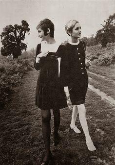 Mod 1960s mini dresses