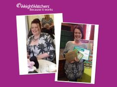 Weight Watchers Debbie Wigley Staffordshire, West Midlands & Derbyshire Mid Week Motivation - yesterday Mel achieved her goal losing 75.5lb since June 2013, from a size 22-12! Fabulous don't you agree.  #WeightWatchersWorks!  To find a local meeting click www.weightwatcherslocal.co.uk
