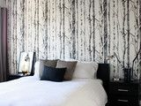 Woods Wallpaper - eclectic - wallpaper - - by Anthropologie