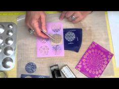Sculpey Clay Silk Screen Kit ~ Polymer Clay Tutorials