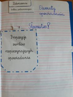 Opowiadamy... Bullet Journal, Education, Teaching, Onderwijs, Studying
