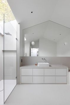 From single-storey storage garage to a beautiful two bedroom house that has skylights positioned above each family space - Page 2 of 2 - CAANdesign | Architecture and home design blog