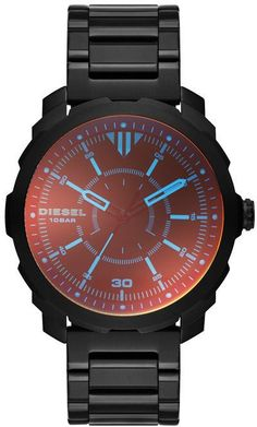 Diesel DZ1737 Black Round 10-Bar Watch