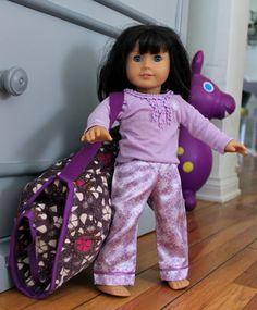 nap mat for American Girl doll