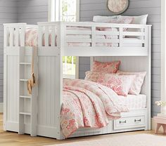 Belden Full-Over-Full Bunk | Pottery Barn Kids