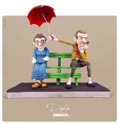 Love is.... - Cake by Daniela Segantini