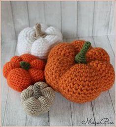 Kürbis Häkeln Anleitung Kostenlos Amigurumi Halloween Herbst Groß