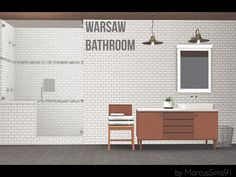 Warsaw Bathroom by MarcusSims91 - Sims 3 Downloads CC Caboodle