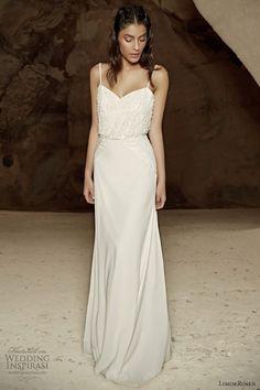 limor rosen bridal 2014 wedding dress straps alma