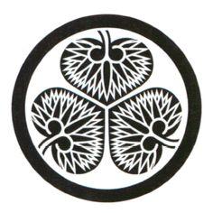徳川家康の家紋(三葉葵)