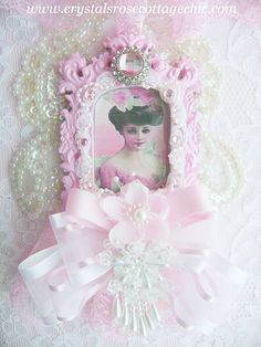 Romantic Victorian Lady in Pink