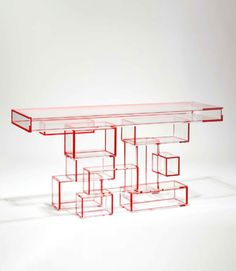 Herve Van der Straten 425 Console Propagation   Modern Console Table ➤ To see more Modern Console Tables ideas visit us at www.modernconsoletables.net #consoletables #homedecorideas #luxuryhomes