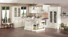 """Είστε λάτρεις του κλασικού; Αυτή είναι η κουζίνα σας!  H """"Pearl"""" συνδυάζει τη γοητεία του παρελθόντος με κομψή και σύγχρονη αντίληψη χάρη στις απαλές γραμμές και τις νεοκλασικές της φόρμες. Δείτε την εδώ: http://ift.tt/24eovKN  #Eliton"""