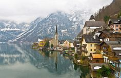 Hallstatt by Arzt Win Studio on Creative Market