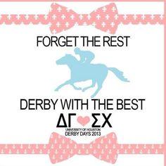 Derby Days!