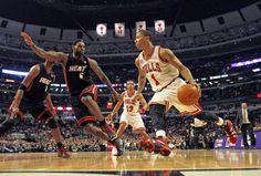 59774f1ad02d LeBron James   Derrick Rose Lebron James Miami Heat