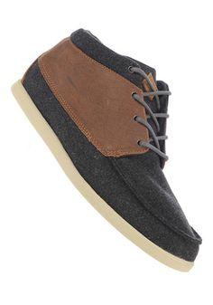 Mooie Voyager Mid Premium (Bruin) Sneakers van het merk Reef voor Heren . Uitgevoerd in Bruin gemaakt van Textiel|leer|leer|textiel.