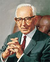 Joseph Fielding Smith, 10th President of  The Church of Jesus Christ of Latter-day Saints, 1970-1972