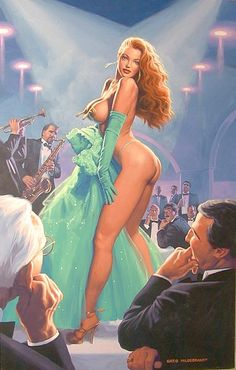 Greg Hildebrandt - Emerald Evening