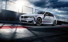 Scarica sfondi raceway, la BMW M3, F80, sportcars, 2017 auto, auto tedesche, BMW