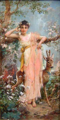 Hans Zatzka 1859-1949 | Austrian Academic painter | Tutt'Art@ | Pittura * Scultura * Poesia * Musica |