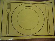Rondom het thema 'Eten en drinken zijn veel leuke werkjes mogelijk.