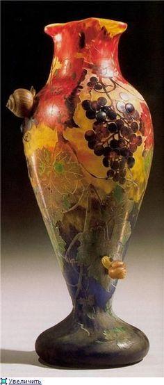 Emile Gallé. Vase