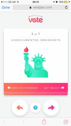 Tinder - swipe the vote Contextual Advertising, Path To Citizenship, Tinder