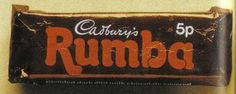 Cadbury Rumba was a rum and fudge concoction, which came in two fingers, not unlike a Twix Old Sweets, Vintage Sweets, Retro Sweets, Retro Food, Chocolate Brands, Chocolate Shop, Chocolate Sweets, Chocolate Covered, Cadbury Chocolate