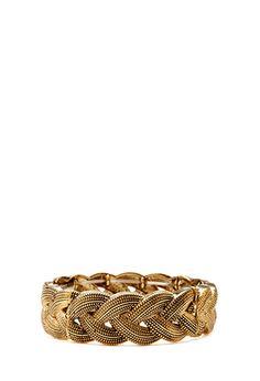 Braided Stretch Bracelet | FOREVER21