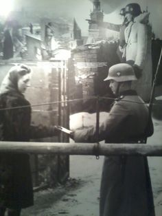 The following picture was taken at the Schindler Factory museum. The story of Oskar Schindler became familiar with Western audiences after the award winning film Schindlers List and what was the Schindler Factory, is now a Holocaust Museum, which documents the Polish experience of the NAZI Holocaust.
