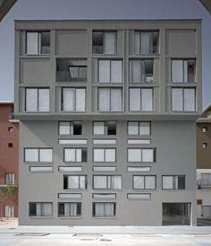 Diener & Diener - Wohnhaus im Olympischen Dorf, Turin, 2006