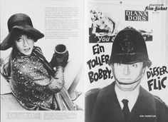 A 1965 German Film Programme from the first release of this movie in Germany