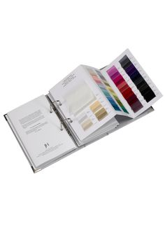 British Silk Fabric, Silk Curtains, Designer Fabrics Specialists for interior decoration and fashion fabric. Book Binding Design, Book Design, Layout Design, Textile Design, Fabric Design, Tiffany Art, Folder Design, Catalog Design, Fashion Sketchbook