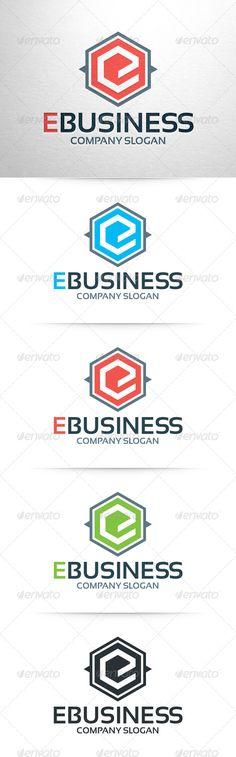 E-Business - Letter E Logo Template (Letters)