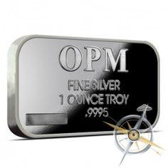 1 oz OPM .999 Fine Silver Bar