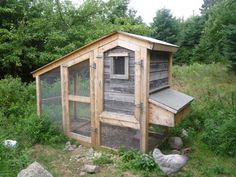 Eric and Carla - thank you SO MUCH for sharing this coop with us!!  The step by step photos are fantastic.  Can't wait to make this next year! Super cute AND almost the same footprint as my pallet coop...  I think we've got a winner here, folks! <3  Found on backyardchickens.com