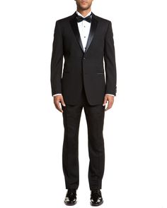Every once in awhile I would like my man to answer the door in a Tuxedo.