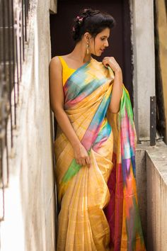 Buy Designer Blouses online, Custom Design Blouses, Ready Made Blouses, Saree Blouse patterns at our online shop House of Blouse from India. Indian Silk Sarees, Indian Designer Sarees, Indian Beauty Saree, Designer Blouses Online, House Of Blouse, Saree Poses, Stylish Sarees, Indian Fashion, Women's Fashion