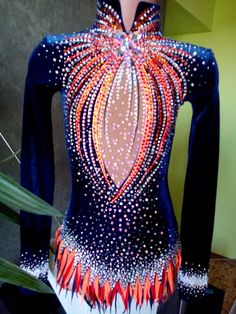 Dance Outfits, Dance Dresses, Sport Outfits, Gym Leotards, Rhythmic Gymnastics Leotards, Showgirl Costume, Gymnastics Outfits, Ice Skating Dresses, Skate Wear