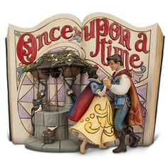 Snow White Story Book Figurine by Jim Shore   Figurines & Keepsakes   Disney Store