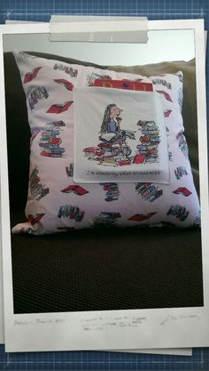 Matilda book pillow #matilda