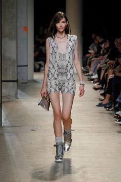 Zadig & Voltaire Spring-Summer 2014 Fashion Show #ParisFashionWeek #Zadig #zadigetvoltaire