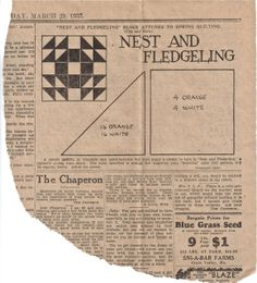 living in the whirl of oz: 1930's Quilt Patterns