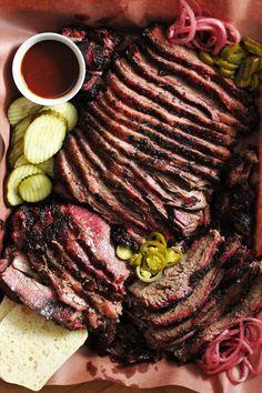 Texas Style Smoked Beef Brisket | Hey Grill, Hey